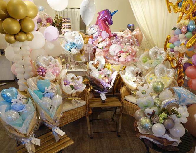 バルーンアート バルーン花束 周年祝い 開店祝い 誕生日プレゼント ウエディング スタンド KOO-DOO クードゥー